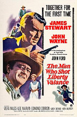 The Man Who Shot Liberty Vance Poster