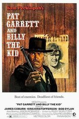 pat garrett and billy the kid film poster