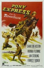 pony express film poster
